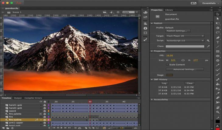 Adobe Animate CC para Crear Animaciones