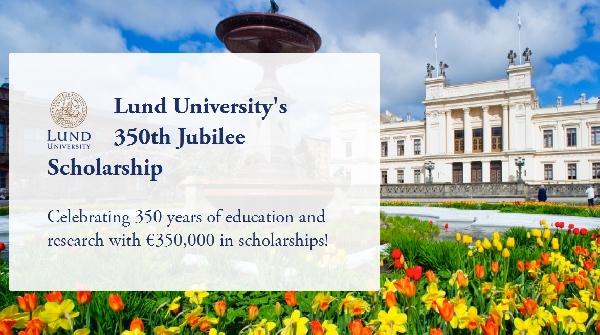 Suecia: Becas para Maestría en Diversos Temas Lund University
