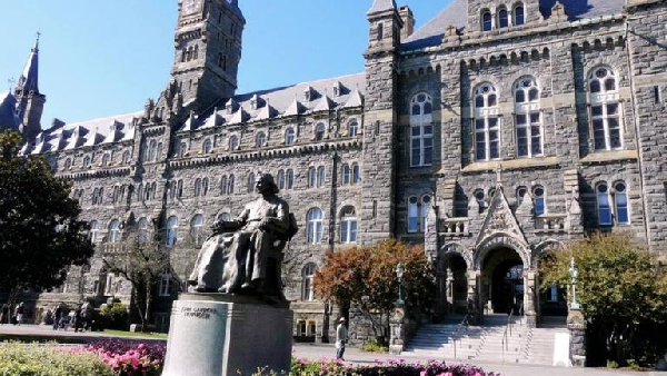 Estados Unidos: Beca Maestría  Administración de Empresas Universidad  Georgetown