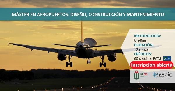 Online: Becas para Maestría Aeropuertos, diseño, construcción y mantenimiento EADIC/OEA
