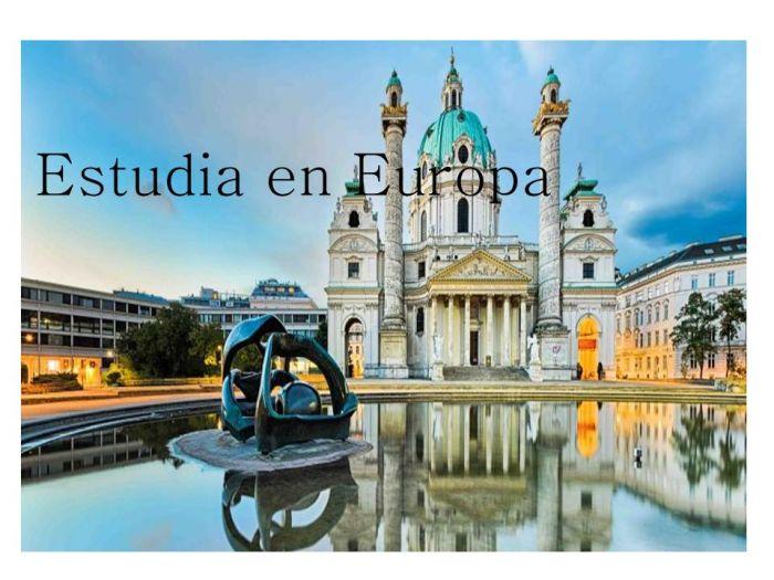 Europa: Beca Curso en Diversas Áreas  EACVI