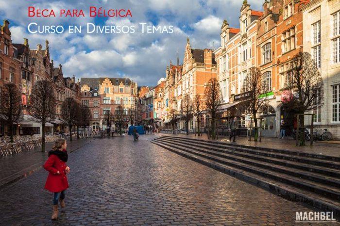 Bélgica: Beca Curso en Diversos Temas  Fundación Carolina y Banco Santander