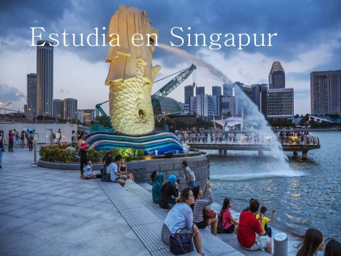 Singapur: Beca Pregrado en Diversas Áreas  Singapore Management University