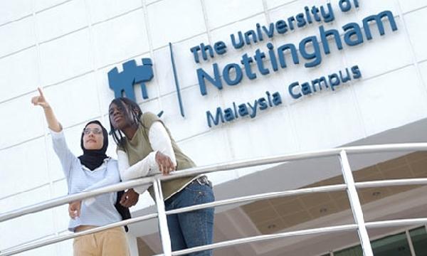 Malasia: Becas para Maestría en Varios Temas University of Nottingham
