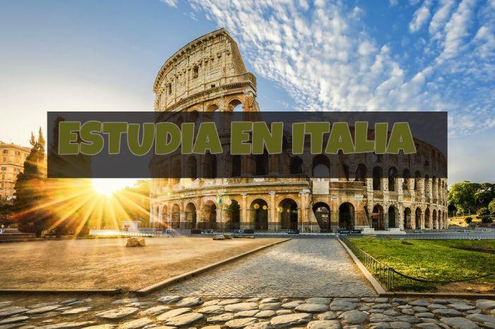 Italia: Beca Pregrado Economía y Negocios Universidad Luiss Guido Carli