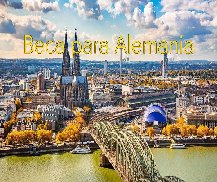 Alemania: Beca Maestría en Diversas Áreas  DAAD