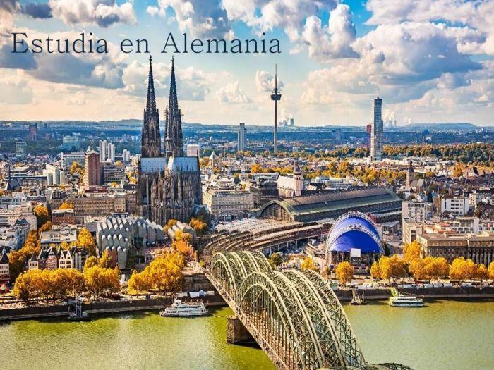 Alemania: Beca Maestría en Diversas Áreas Universidad  Goethe