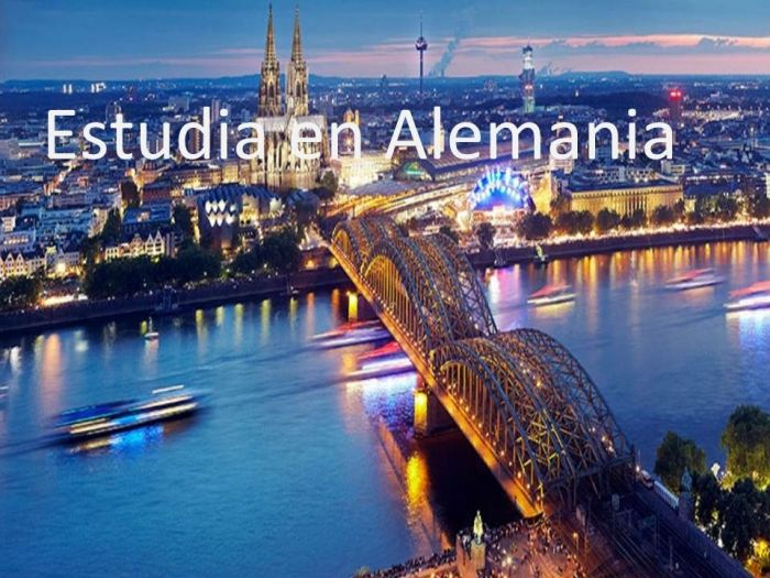 Alemania: Beca Maestría en Artes  DAAD