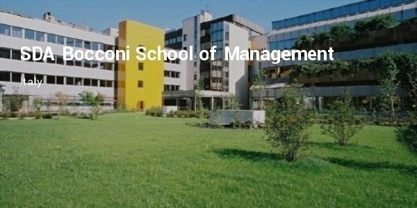 Italia: Becas para Maestría en Administración y Negocios SDA Bocconi School of Management
