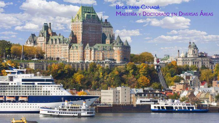 Canadá: Beca Maestría y Doctorado en Diversas Áreas ICETEX OEA
