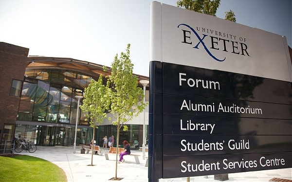 Reino Unido: Becas para Maestría en Economía y Negocios University of Exeter