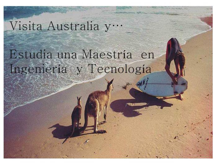 Australia: Beca Maestría  en Ingeniería  y Tecnología  Universidad  Tecnología de Sydney